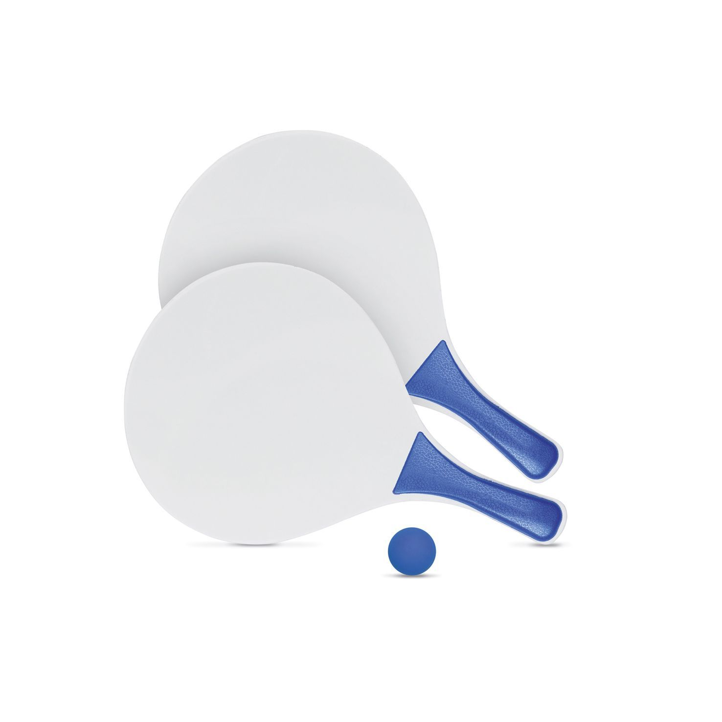 Blauwe Beachball set | Hout
