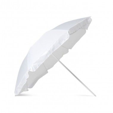 Witte Parasol | Polyester | 36 inch